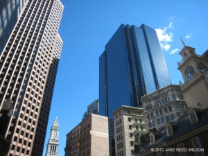 Tall buildings in Boston-click for larger image